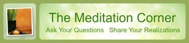 the meditation corner