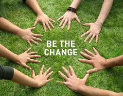 be the change circle