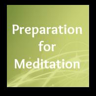 meditation preparation
